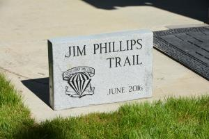 Jim Phillips granite memorial to be set at head of Mann Gulch on his Crossover Trail